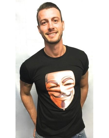 """Camiseta con realidad aumentada """"V de Vendetta"""""""