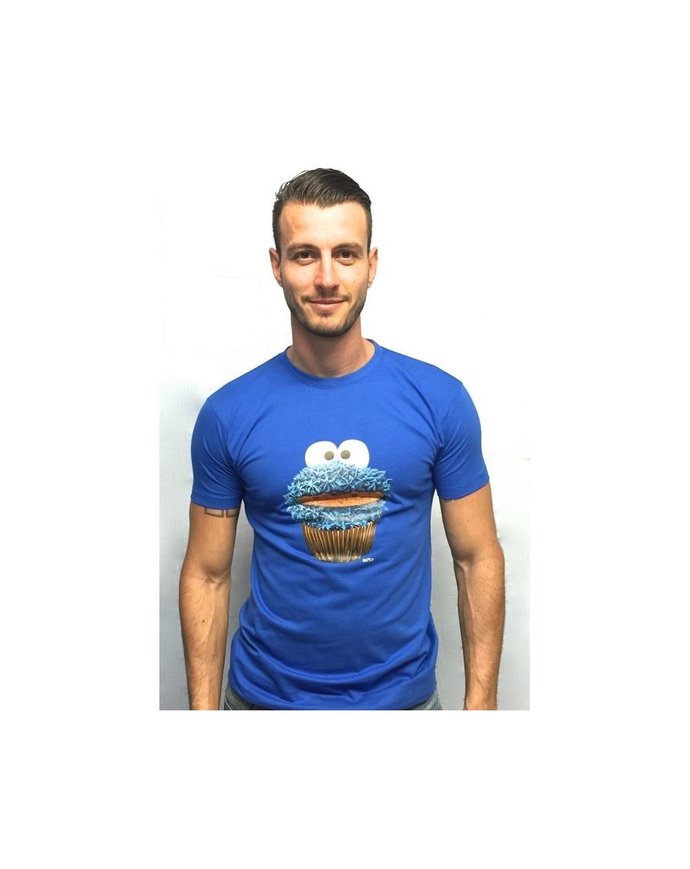 """Camiseta con realidad aumentada """"Monstruo de las galletas"""""""