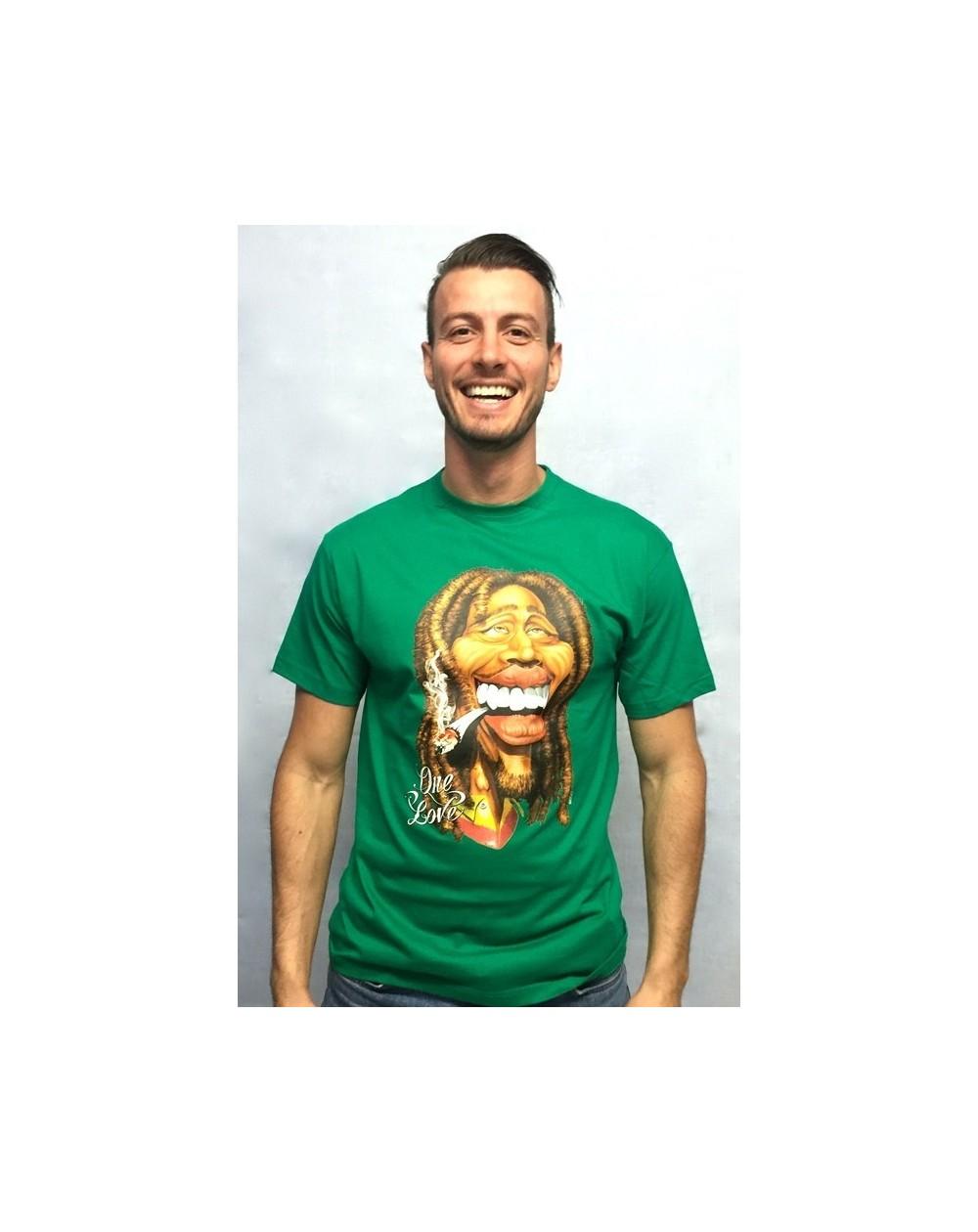 """Camiseta con realidad aumentada """"Bob Marley"""""""