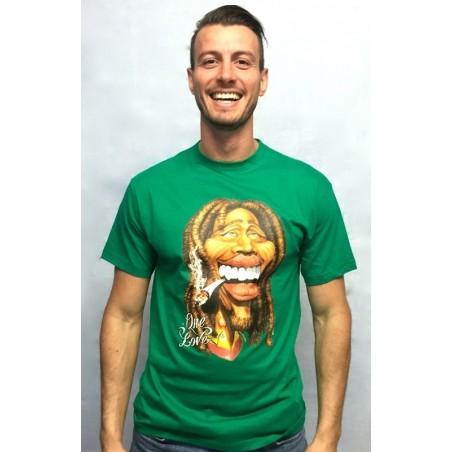 Camiseta Realidad Aumentada - Bob Marley