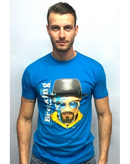 "Camiseta con realidad aumentada ""Breaking Bad"""