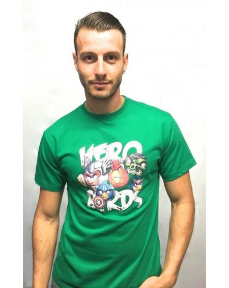 """Camiseta con realidad aumentada """"Hero birds"""""""