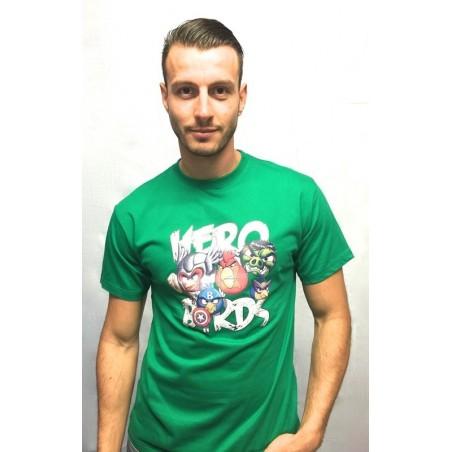 Camiseta Realidad Aumentada - Hero birds